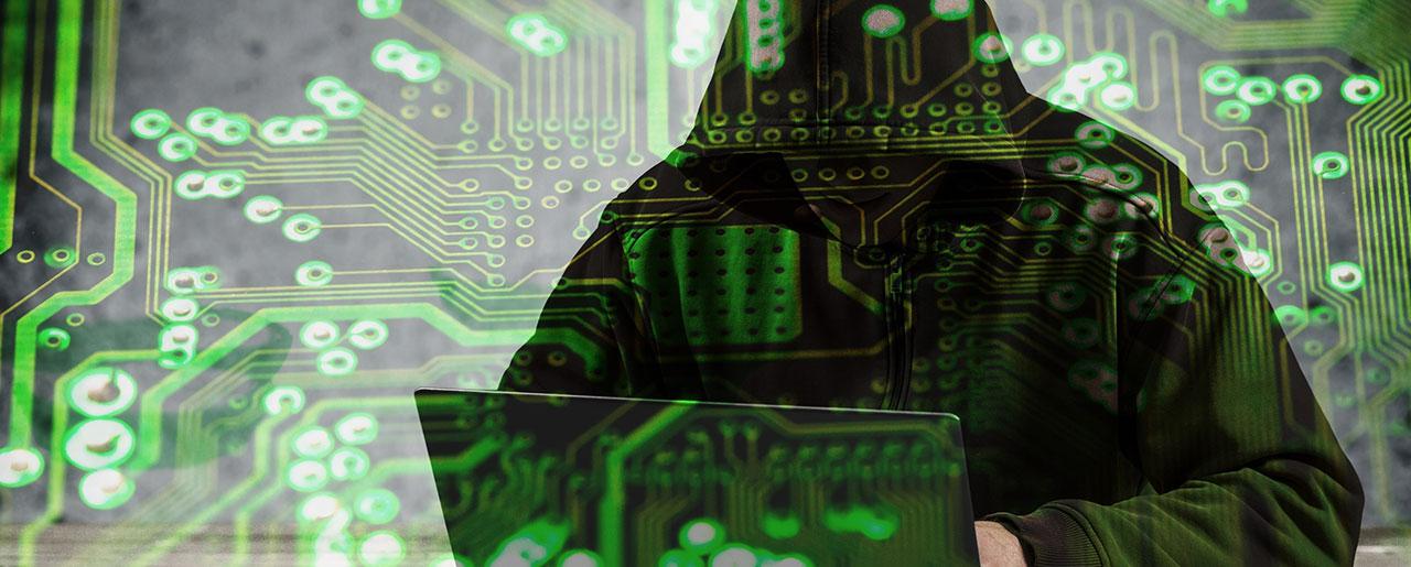 Hacker cyberattaque
